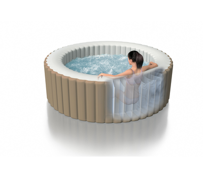 Intex надуваемо джакузи PureSpa™ Bubble Therapy кръгло Ø196x71см.