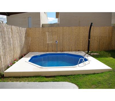 GRE Сглобяем басейн с метални стени Fidji кръгъл Ø460x120см.
