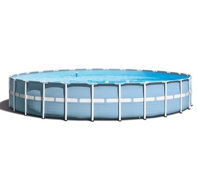 Intex Басейн с тръбна конструкция Prism Frame кръгъл 732х132 см.