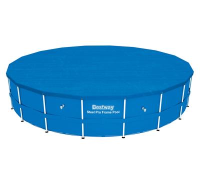 Bestway басейн с тръбна конструкция Steel Pro кръгъл Ø549х122 см.