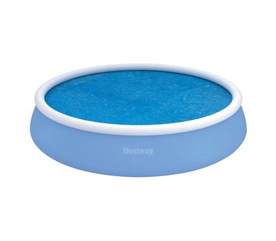 Bestway изотермично покривало 150g/m2 за кръгъл басейн с надуваем ринг Ø549см.