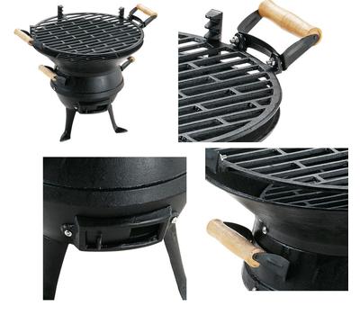 Landmann барбекю на дървени въглища 0630 53х62х52см.
