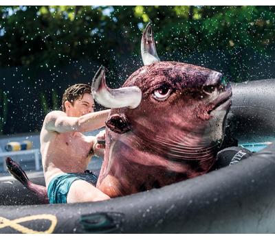 Intex Надуваем родео бик с пояс 239х196х81 см.