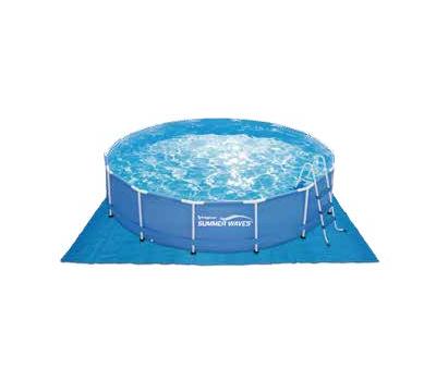Summer Waves басейн с тръбна конструкция Metal Frame кръгъл 457х107см.
