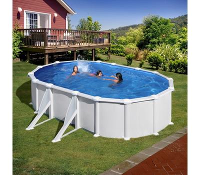 GRE Сглобяем басейн с метални стени Atlantis овален 610x375x132см.
