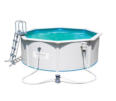 Bestway басейн с метални стени Hydrium кръгъл 360х120см.