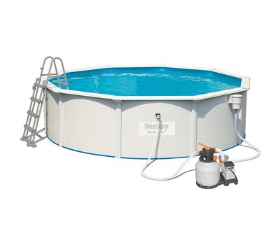Bestway сглобяем басейн с твърди стени Hydrium кръгъл 460см/120см