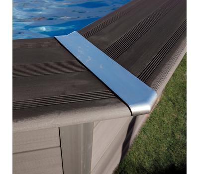Gre басейн от композитни панели Avantgarde правоъгълен 606x326хh124см