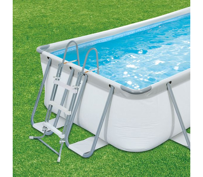 Сглобяем басейн Summer Waves 400х200х100см Elite Frame метална рамка