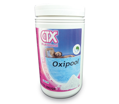 CTX таблетки активен кислород Oxipool за джакузита и басейни 1кг.