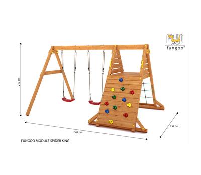 Fungoo Spider King2 допълнителен модул за дървени детски площадки