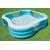 Intex Детски надуваем басейн Family Lounger 229х229х56 см.