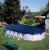 Gre Покривало 100g/m2 за овален басейн 730x375см.