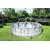 Bestway басейн с тръбна конструкция Power Steel кръгъл 488х122см.