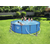 Bestway басейн с тръбна конструкция Steel Pro кръгъл Ø457x107см.