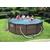 Bestway басейн с тръбна конструкция Rattan Power Steel кръгъл 366x100см.