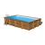 Gre  сглобяем дървен басейн Mint правоъгълен 1018x427xh146см
