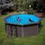 Gre басейн от композитни панели Avantgarde кръгъл Ø410хh124см
