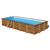 Gre сглобяем дървен басейн Anise правоъгълен 900x300xh146см
