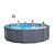 Intex Сглобяем басейн GRAPHITE PANEL POOL™ кръгъл ф478x 124см