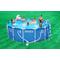 Intex басейн с тръбна конструкция Metal Frame™ кръгъл Ø457x122 см.